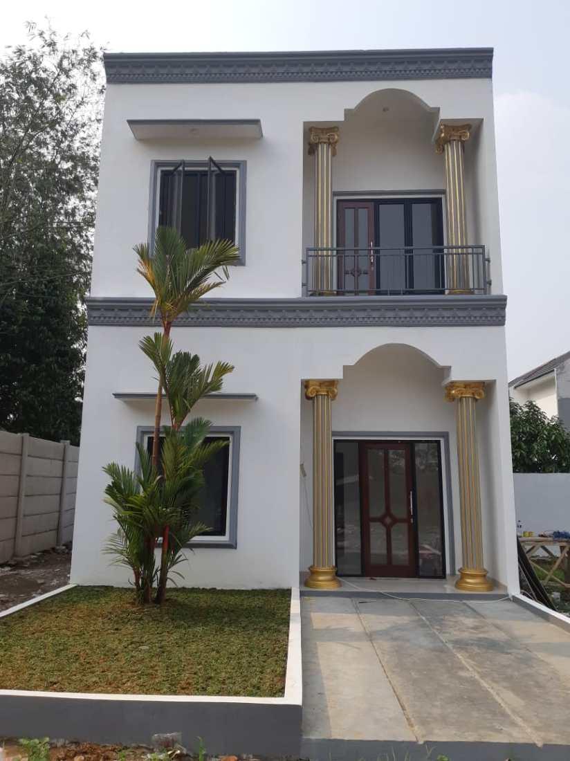 (Jual Rumah 2 Lantai) Rumah Contoh Kaisar City Classic Fix